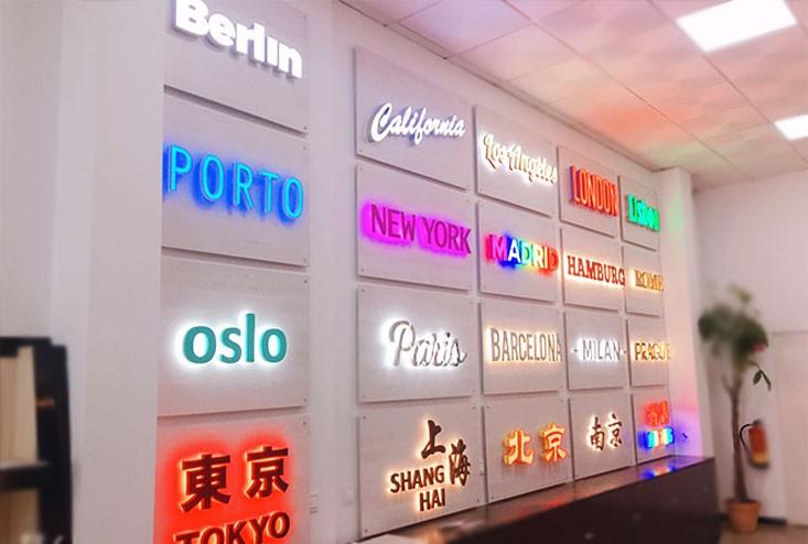 西班牙马德里广告 繁华都市广告公司 在广告制作、喷绘写真、X展架、易拉宝、印刷、包装、LED显示屏租凭、