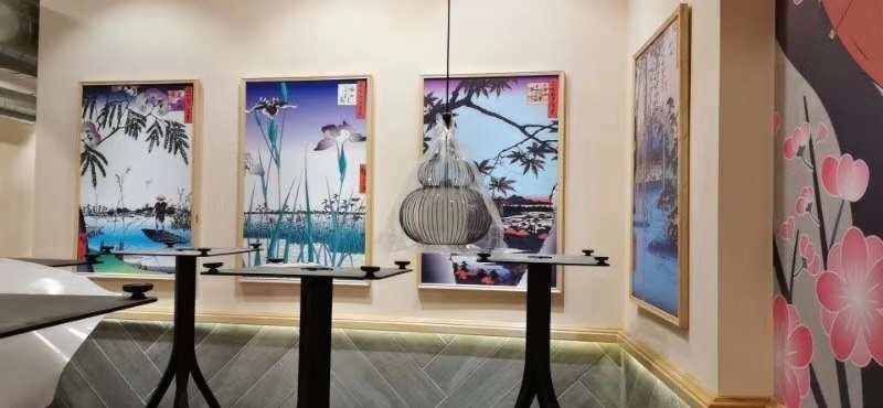 繁华都市 马德里广告公司 墙纸设计,安装 广告牌制作